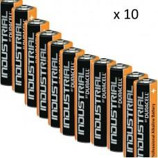 Пакет 10 броя професионална алкална батерия AA, 1.5V
