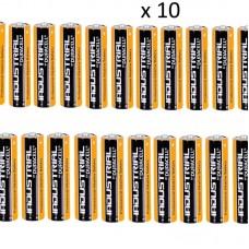 Пакет 10 броя професионална алкална батерия AAA, 1.5V
