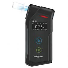 Дрегер за алкохол AF-50 комплект + 50 броя мундщук + резервни алкални батерии + една безплатна калибровка в гаранционния срок