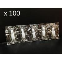 Пакет 100 броя мундщук за Дрегер за алкохол AL7000, AL7010, AL8800, ALC-1, CLICK, CA05FS