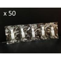 Пакет 50 броя мундщук за Дрегер за алкохол AL7000, AL7010, AL8800, ALC-1, CLICK, CA05FS