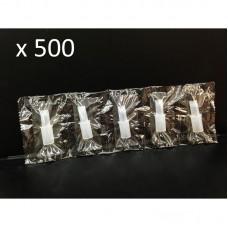 Пакет 500 броя мундщук за Дрегер за алкохол AL7000, AL7010, AL8800, ALC-1, CLICK, CA05FS